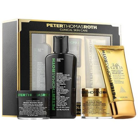 Peter Thomas Roth Black & Gold Kit Memorial Day Giveaway! A $166 Value! (Ends June 5th, 2017)
