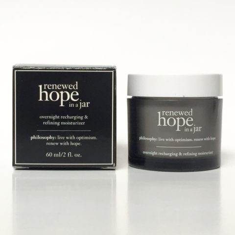 Product Review: Philosophy Renewed Hope in a Jar Night Cream