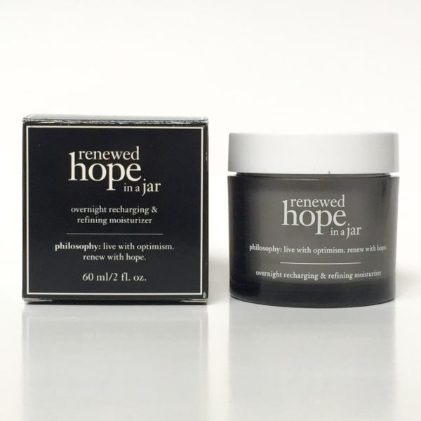 Philosophy Renewed Hope in a Jar Night Cream Review PrettyThrifty.com