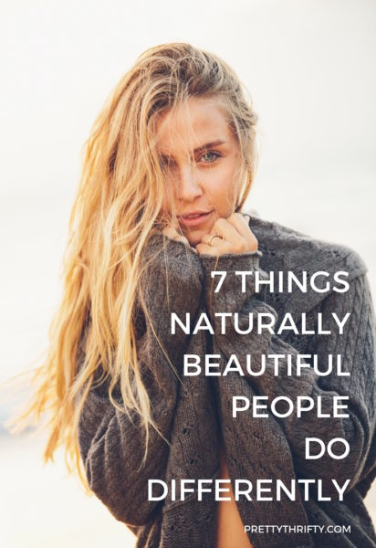 How to Be Naturally Beautiful PrettyThrifty.com