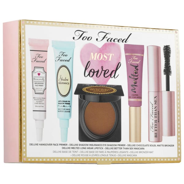 Too Faced Most Loved Makeup Set PrettyThrifty.com