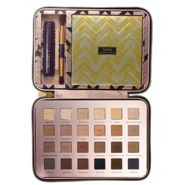 Win this gorgeous Holidaze makeup set from Tarte Cosmetics! $394 Value! PrettyThrifty.com