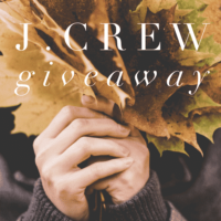Expired: $200 J.Crew Gift Card Giveaway!
