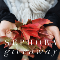 Expired: $200 Sephora Gift Card Giveaway!