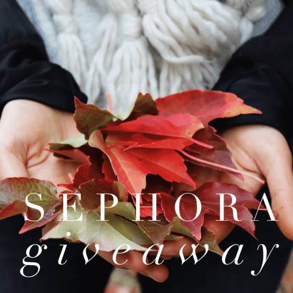 $200 Sephora Gift Card Giveaway! PrettyThrifty.com