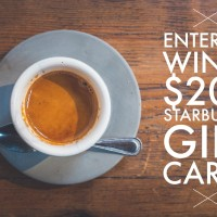 Expired: $200 Starbucks Gift Card Giveaway