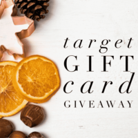 Expired: $200 Target Gift Card Giveaway! (Ends January 17th)
