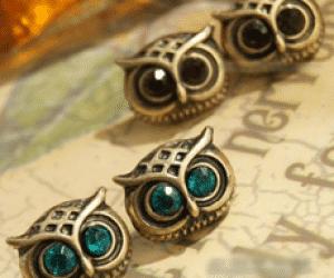 Free Owl Earrings