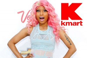 Free Nicki Minaj clothing line accessory at Kmart PrettyThrifty.com