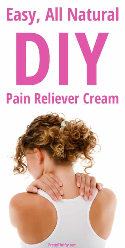 How to make homemade 'Tiger's Balm' pain relief cream! All natural and super easy. PrettyThrifty.com