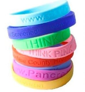 Free Customized Silicone Bracelet PrettyThrifty.com
