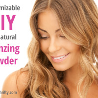 Customizable DIY Homemade Natural Bronzer