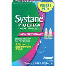 Free Sample of Systane Ultra Lubricant Eye Drops PrettyThrifty.com