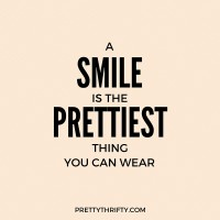 Friday Favorites: A Smile is the Prettiest Thing You Can Wear