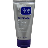 Product Review: Clean & Clear Advantage 3-in-1 Exfoliating Cleanser