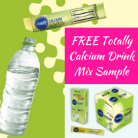 Free Totally Calcium Stick Sample
