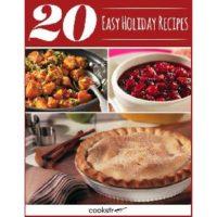 Free 20 Easy Holiday Recipes eBook