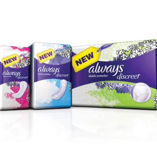 Expired: Free Always Discreet Liner, Pad or Underwear Pack (Up to a $14 Value!)
