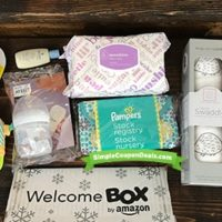 Free Amazon Welcome Baby Box