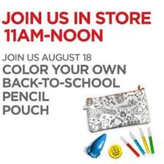 Expired: Free Back-to-School Pencil Pouch