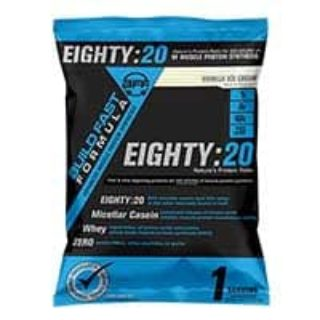Free Build Fast Formula Eighty:20 Sample