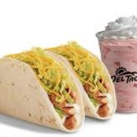 Free Chicken Tacos and Shake at Del Taco