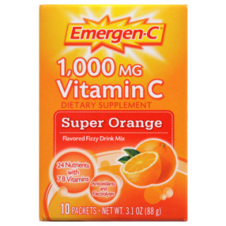 Free Emergen-C Vitamin C and Immune+ Mix Samples
