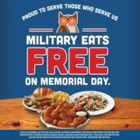 Free Entree at Hooters for Military Members 5/27