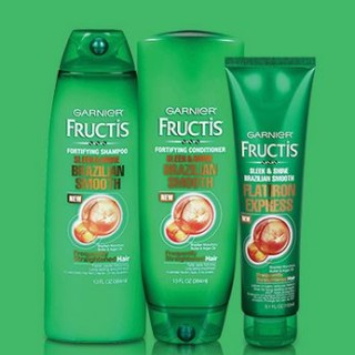 Free Garnier Fructis Brazilian Smooth Hair Care Sample Kit