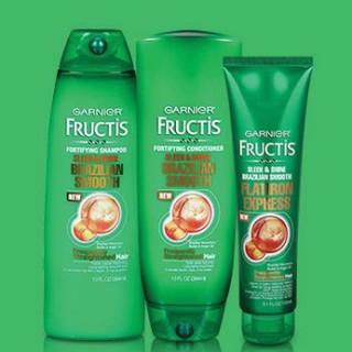 Expired: Free Garnier Fructis Brazilian Smooth Hair Care Sample Kit
