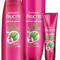 Expired: Free Garnier Full & Plush Hair Care Sample Pack