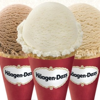 Free Ice Cream Cone at Haagen-Dazs on May 8th, 2018