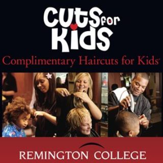 Expired: Free Kids Haircut at Remington College During August! (Also Get an Adult Haircut, Manicure or Pedicure with School Supplies Donation)