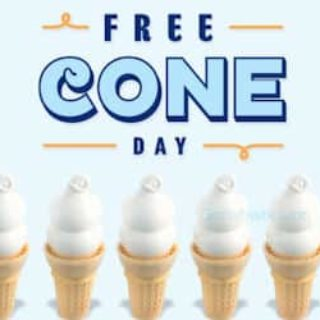 Free Cone Day at Dairy Queen (March 19th)