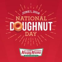 Free Krispy Kreme Doughnut on Friday, June 1st