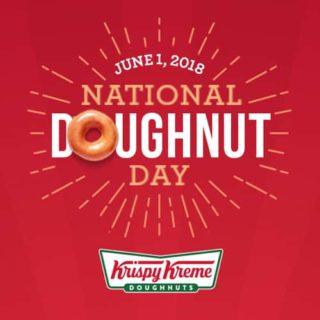 Expired: Free Krispy Kreme Doughnut on Friday, June 1st