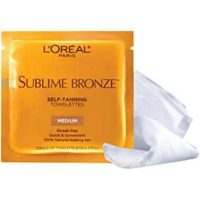 Free L'OREAL Self-Tannning Towelettes Sample