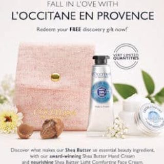 Free L'Occitane En Provence Discovery Gift (In Stores)