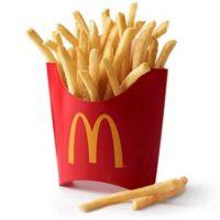 Free Medium Fry at McDonalds