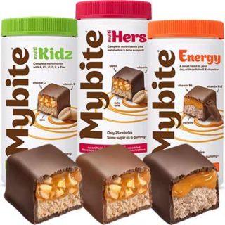 Free Bottle of Mybite Chocolate Vitamins for Teachers