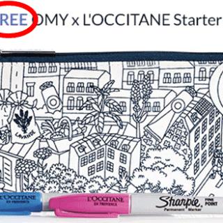 Free OMY x L'OCCITANE Starter Kit
