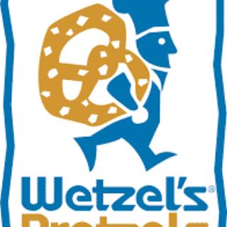 Free Pretzel at Wetzel's Pretzel