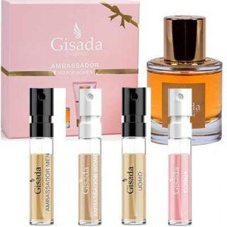 Free Sample Set of Gisada Fragrances