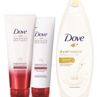 Expired: Free Dove Shampoo, Conditioner and Body Wash Samples