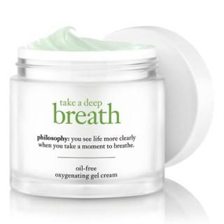 Expired: Free Sample of Philosophy Take a Deep Breath Gel Cream