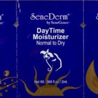Free SeneDerm Skin Care Sample