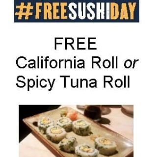 Free Sushi at P.F. Chang's on 9/20