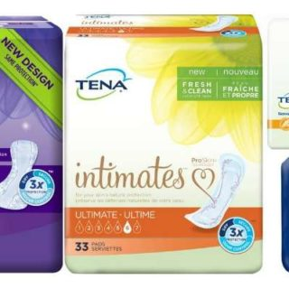 Free TENA Pad & Underwear Products