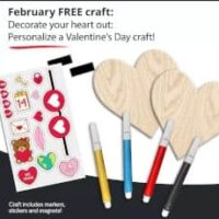 Free Valentine's Day Craft for Kids from JCPenney