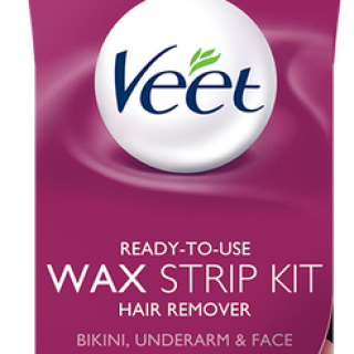 Expired: Free Veet Bikini, Underarm and Face Wax Strip Kit with Mail In Rebate